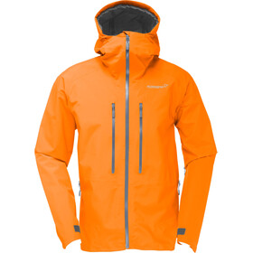 Norrøna Trollveggen Gore-Tex Light Pro Jacket Herre pure orange